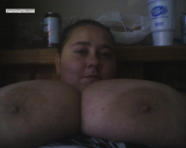 My Extremely big Tits Topless Selfie by Rabbit