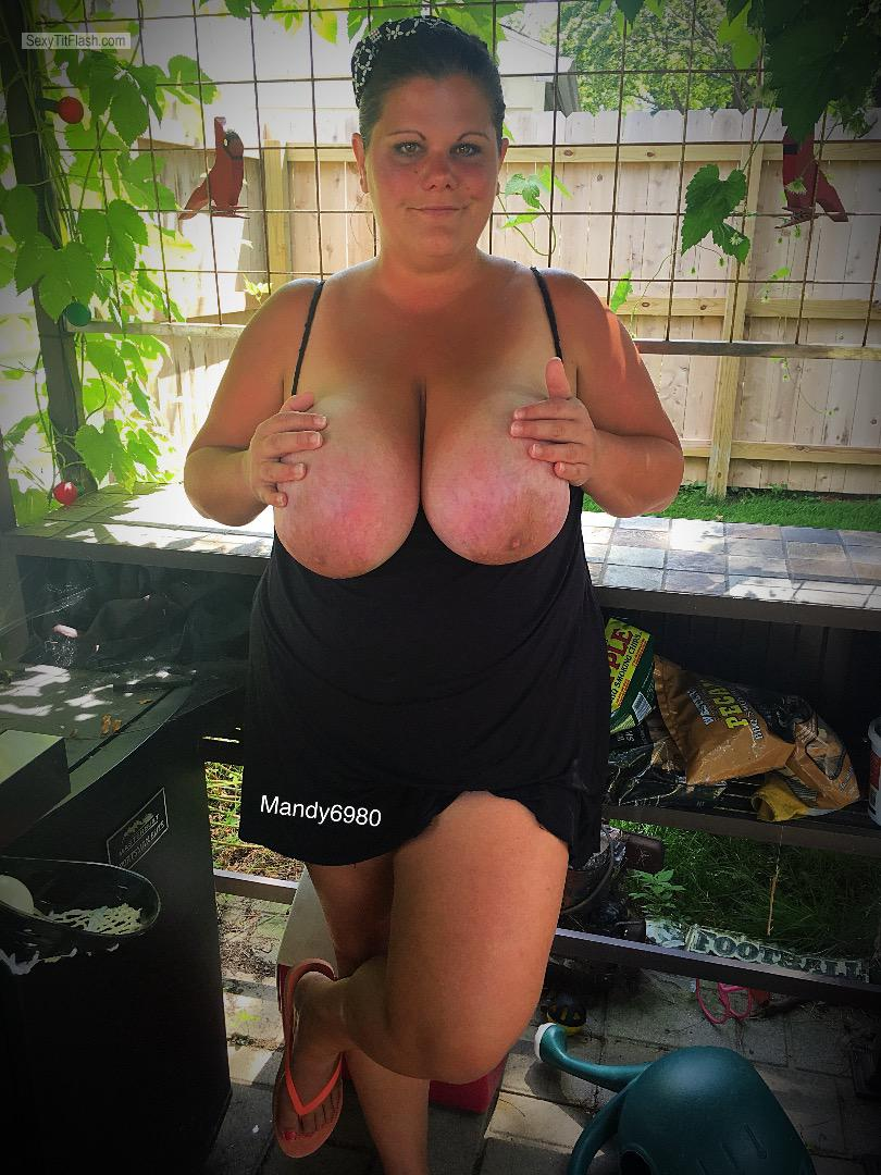 My Extremely big Tits Topless Mandy6980