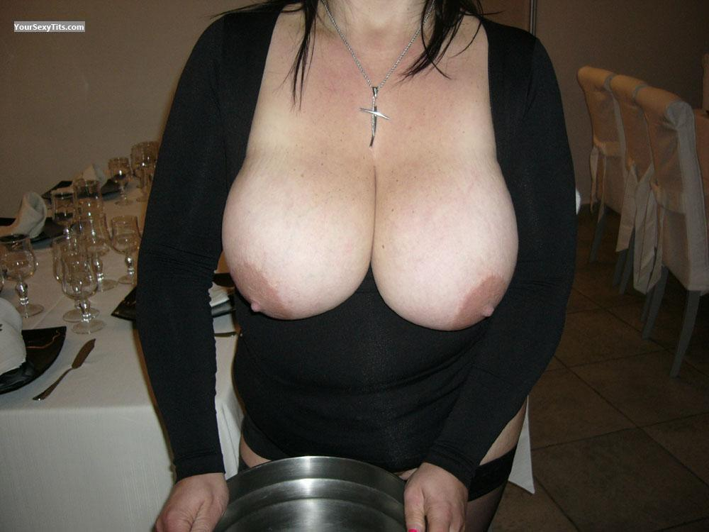 Tit Flash: Extremely Big Tits - Sexy64 from Italy