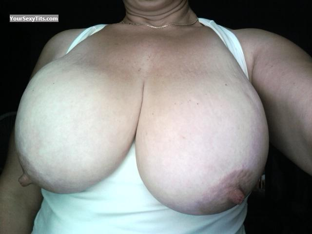 My Extremely big Tits Selfie by Sexymilf