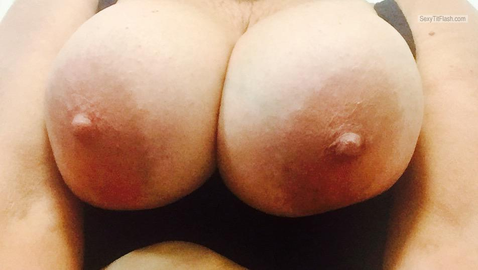 My Extremely big Tits Topless Selfie by Lucious