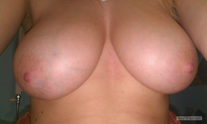 Extremely big Tits Of My Girlfriend Selfie by Loulou
