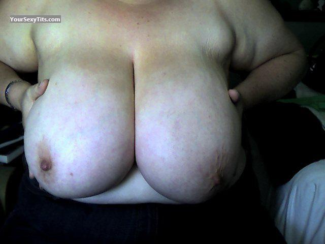 Extremely big Tits Of A Friend Selfie by PirateUnderAPalm
