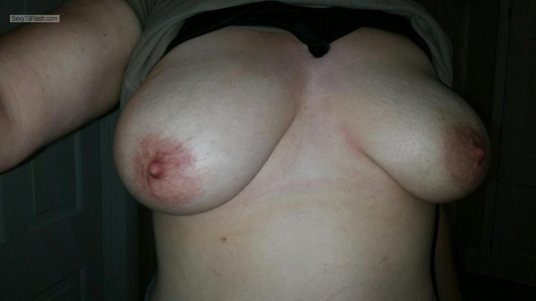 Extremely big Tits Of My Wife Selfie by Nh_shared