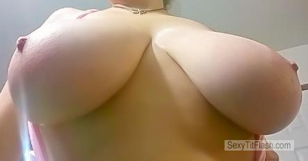 Tit Flash: My Extremely Big Tits - Hotbustyblondeddd36 from United States