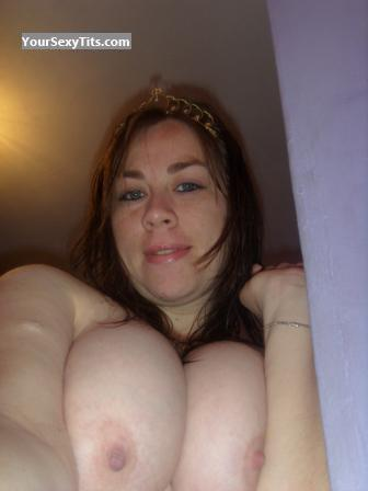 My Extremely big Tits Topless Selfie by Agaby