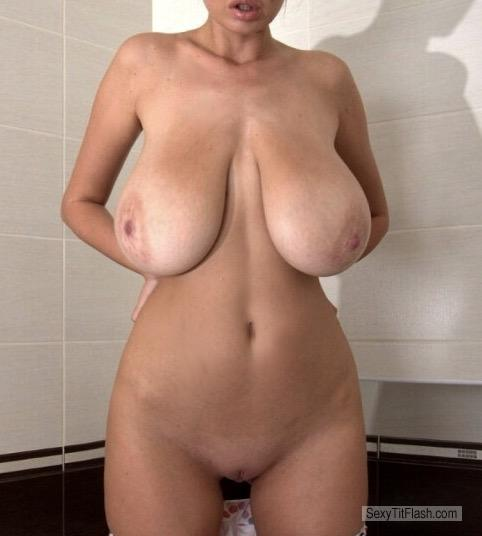My Extremely big Tits Topless Sha