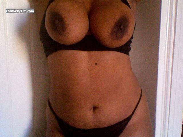 Tit Flash: My Extremely Big Tits (Selfie) - Baderinwa from United Kingdom