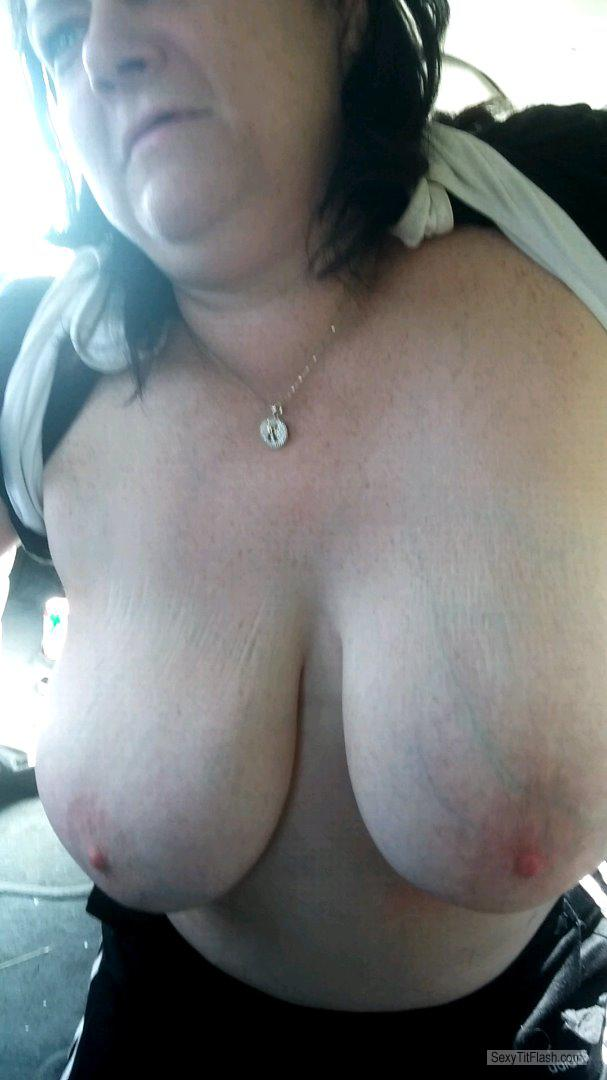 My Extremely big Tits Topless Rachel