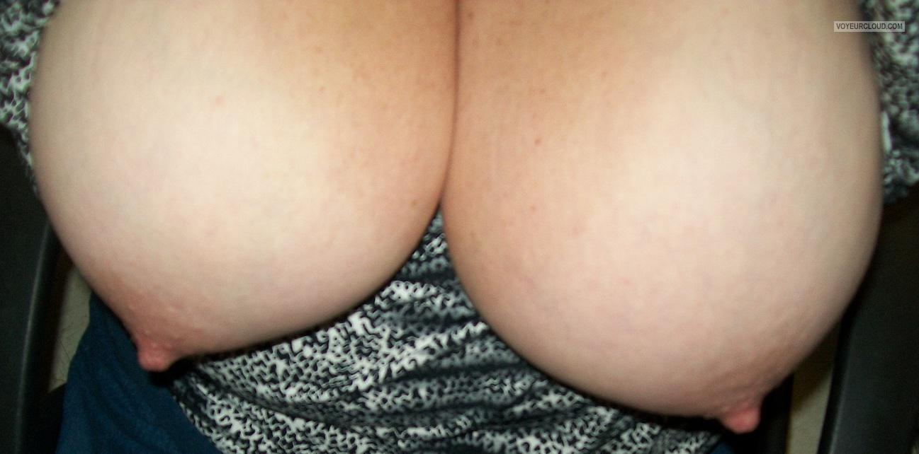 Tit Flash: My Big Tits (Selfie) - KTX from United States