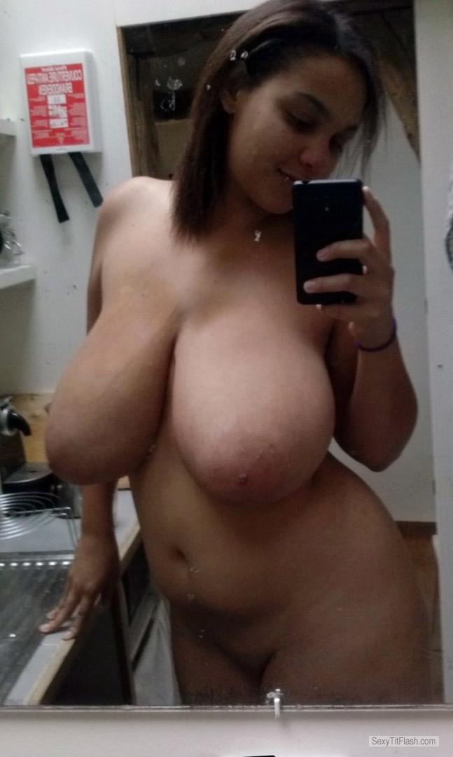 My Extremely big Tits Topless Fun Bags