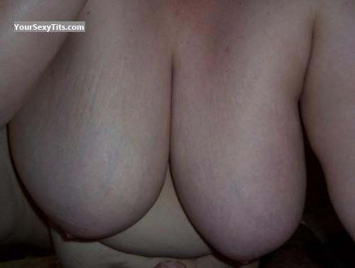 Tit Flash: My Friend's Extremely Big Tits - Ta-do from United States