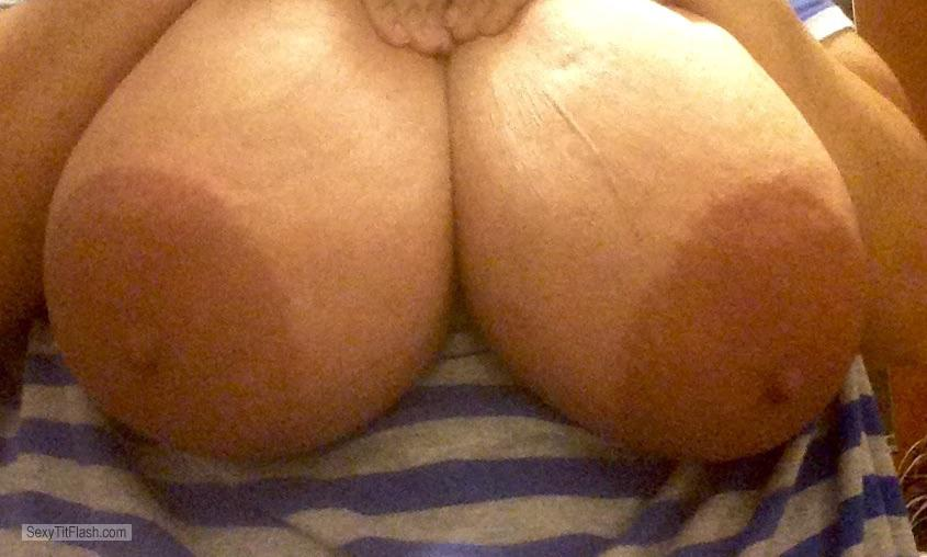 My Extremely big Tits Selfie by Hugetits4u