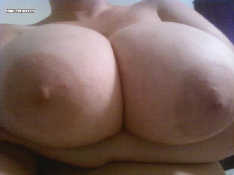 My Extremely big Tits Selfie by Copper In Tx