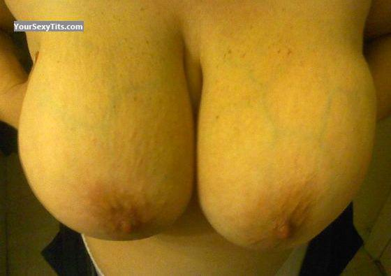 Extremely big Tits Of My Wife Voluptuous