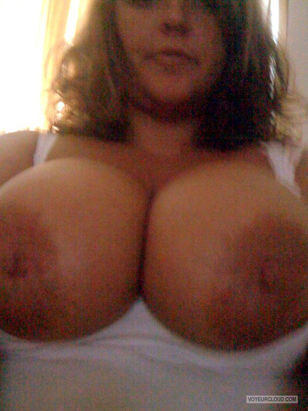 Extremely big Tits Of My Wife Selfie by Epps
