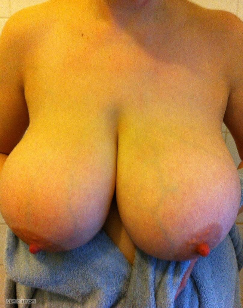 Extremely big Tits Of My Wife Sexylady