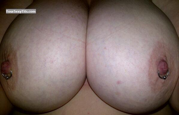 Extremely big Tits Of My Wife Biggies