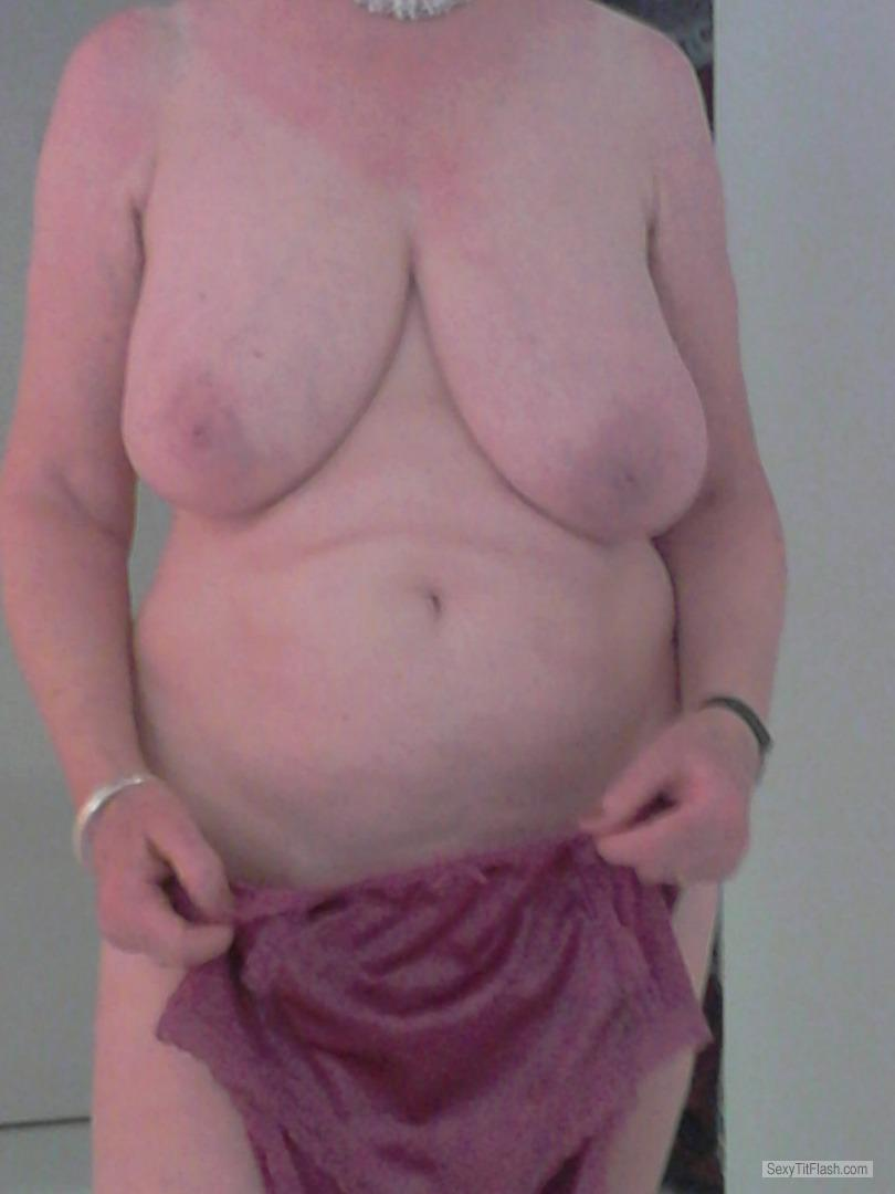Extremely big Tits Of My Wife Sue