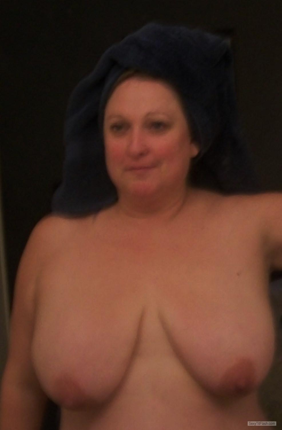 My Extremely big Tits Topless Selfie by KTX