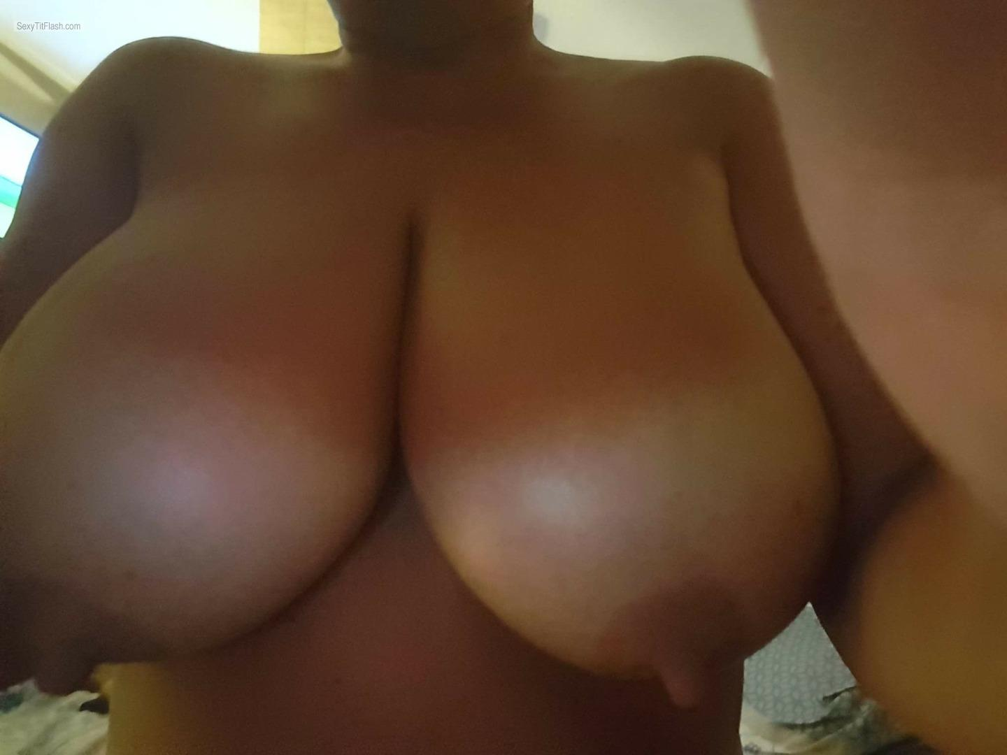 image Girlfriend with big tits sucks amp fucks