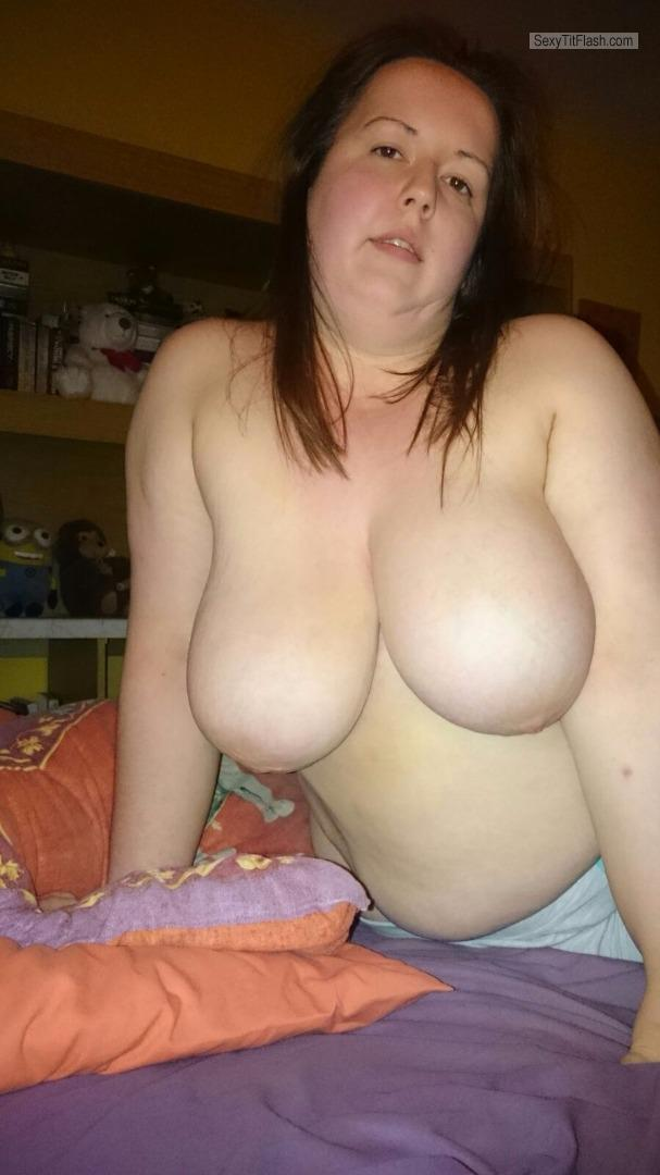 My Extremely big Tits Topless Carol