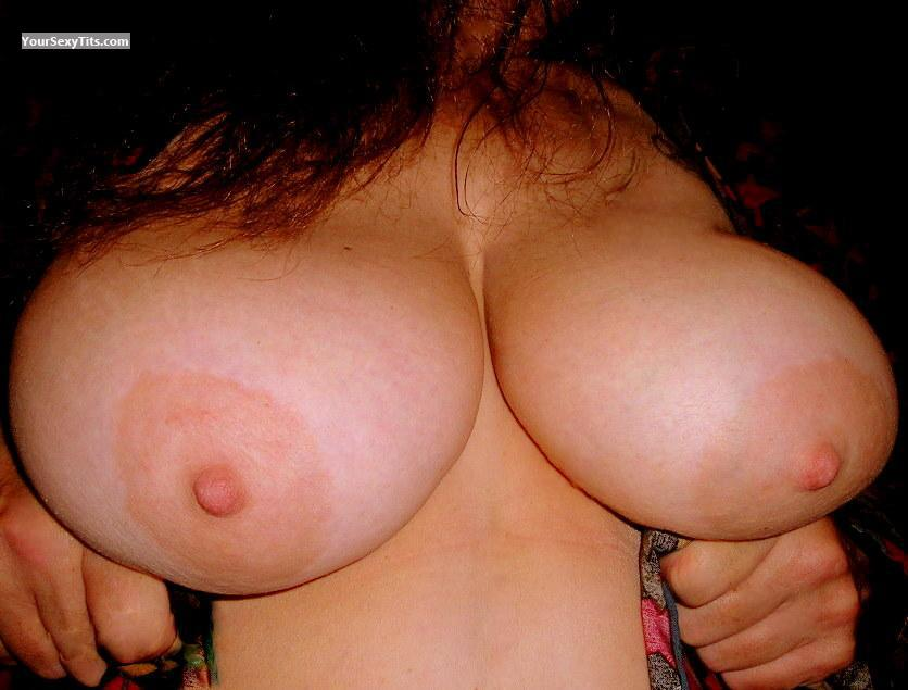 Tit Flash: Extremely Big Tits - My Missy from United States