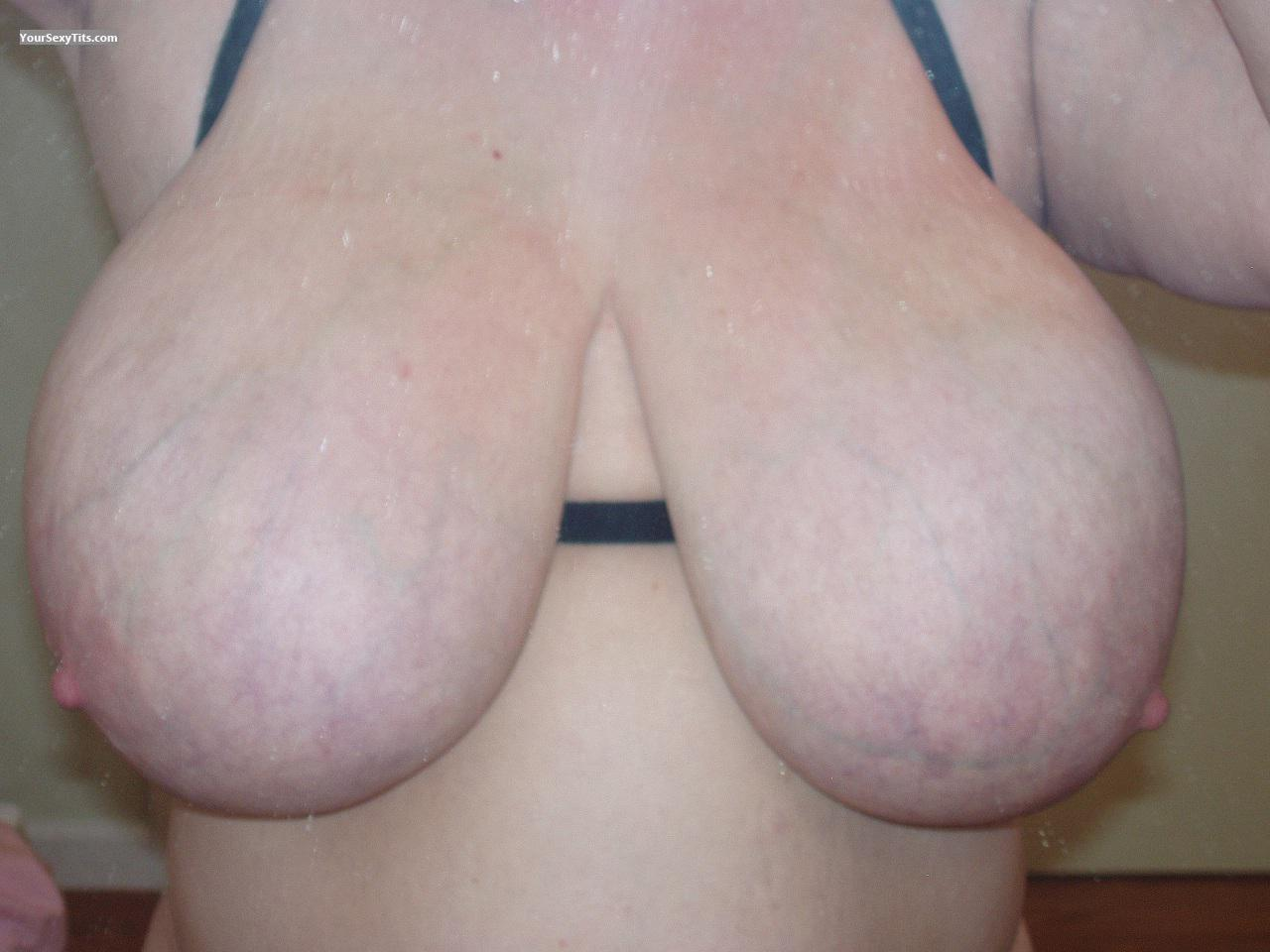 My Extremely big Tits Selfie by Badsansspouse`