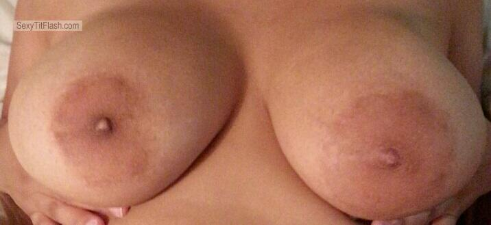 Tit Flash: My Extremely Big Tits - Maturetits from United States