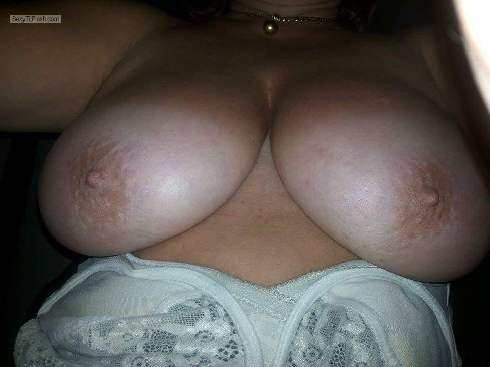 My Extremely big Tits Topless Selfie by Silvia