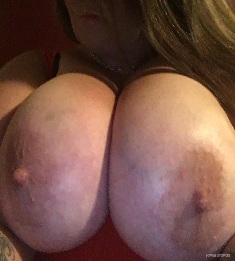 My Extremely big Tits Topless Selfie by Mzdddd