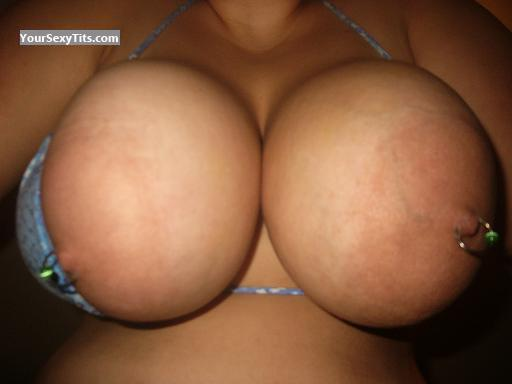 Extremely big Tits PiercedH's