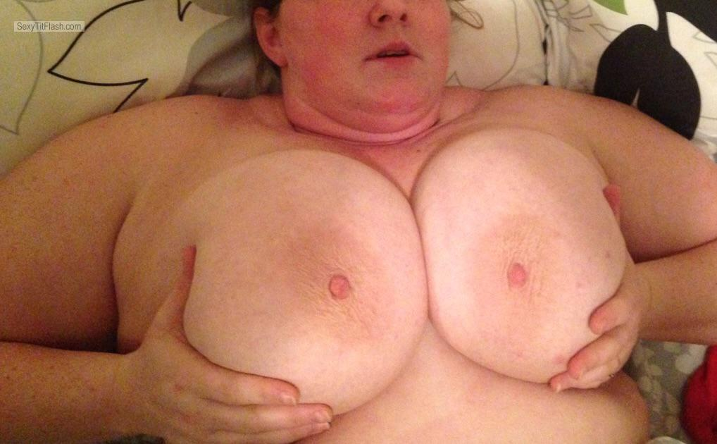Extremely big Tits Of My Girlfriend Love Big Tits