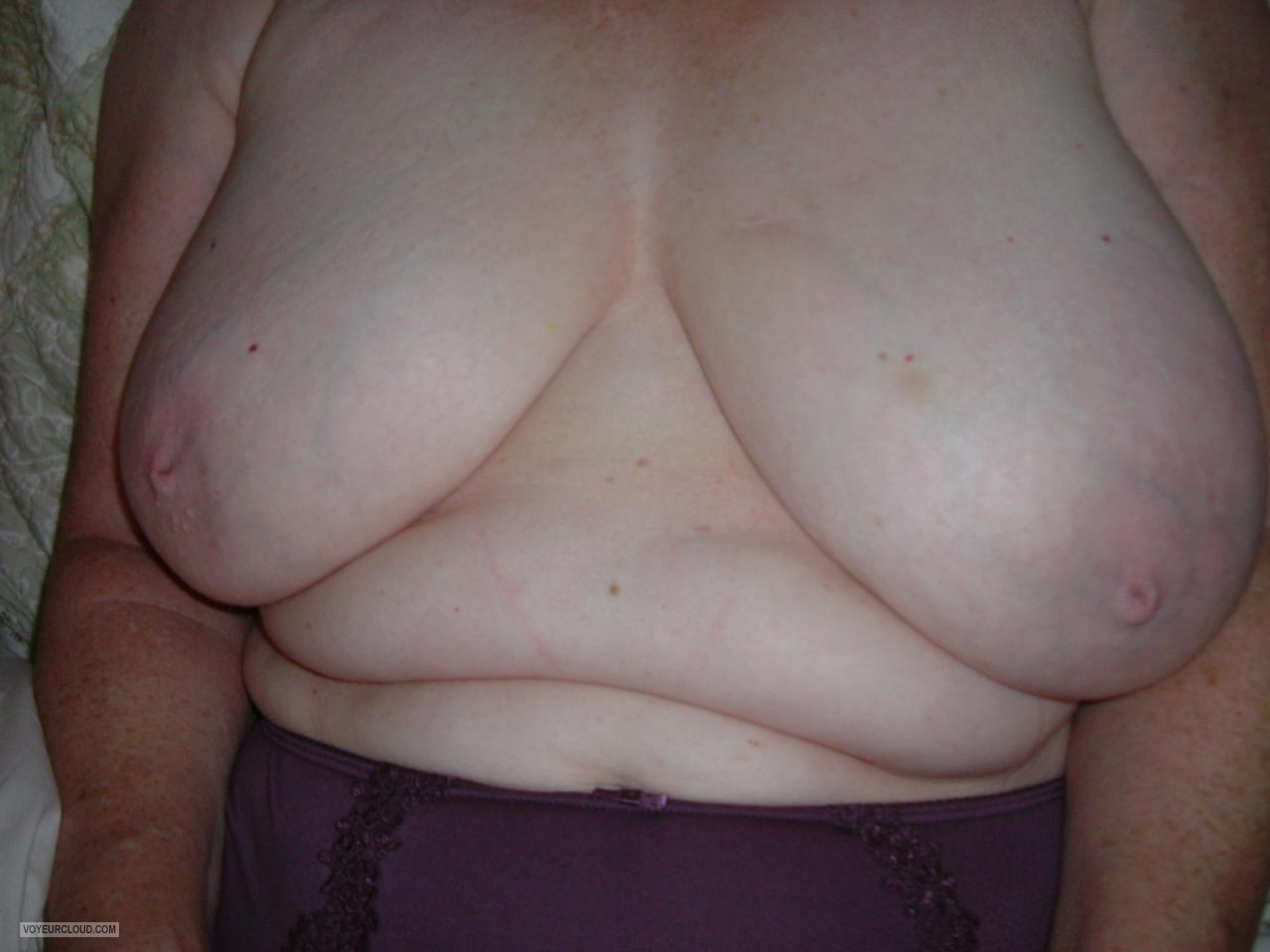 Extremely big Tits Of My Wife Jen
