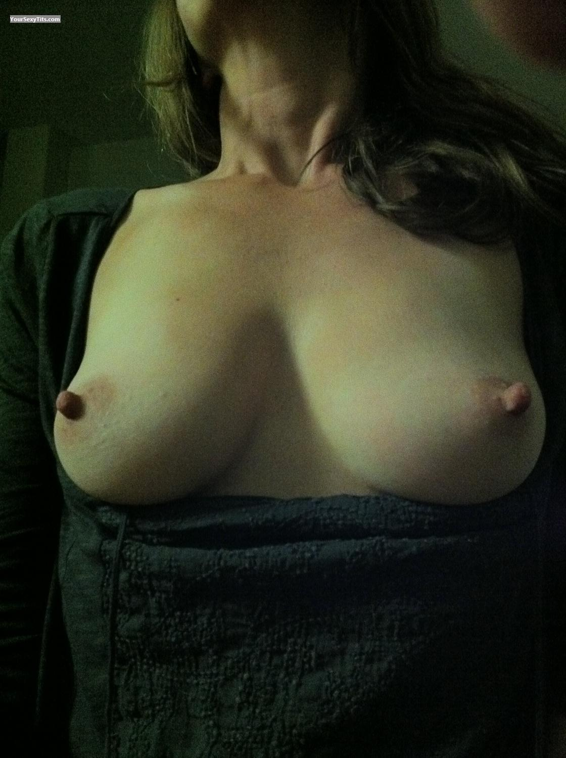 Tit Flash: Small Tits By IPhone - Clara from United States
