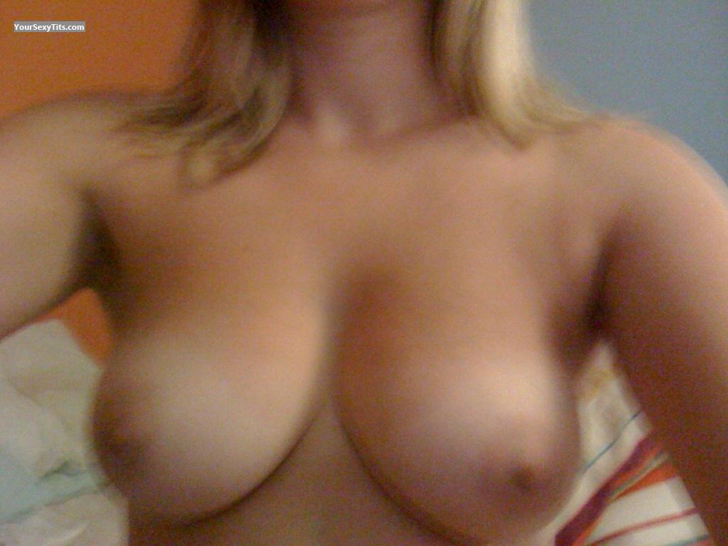 Tit Flash: My Medium Tits By IPhone (Selfie) - Lulabella from United Kingdom