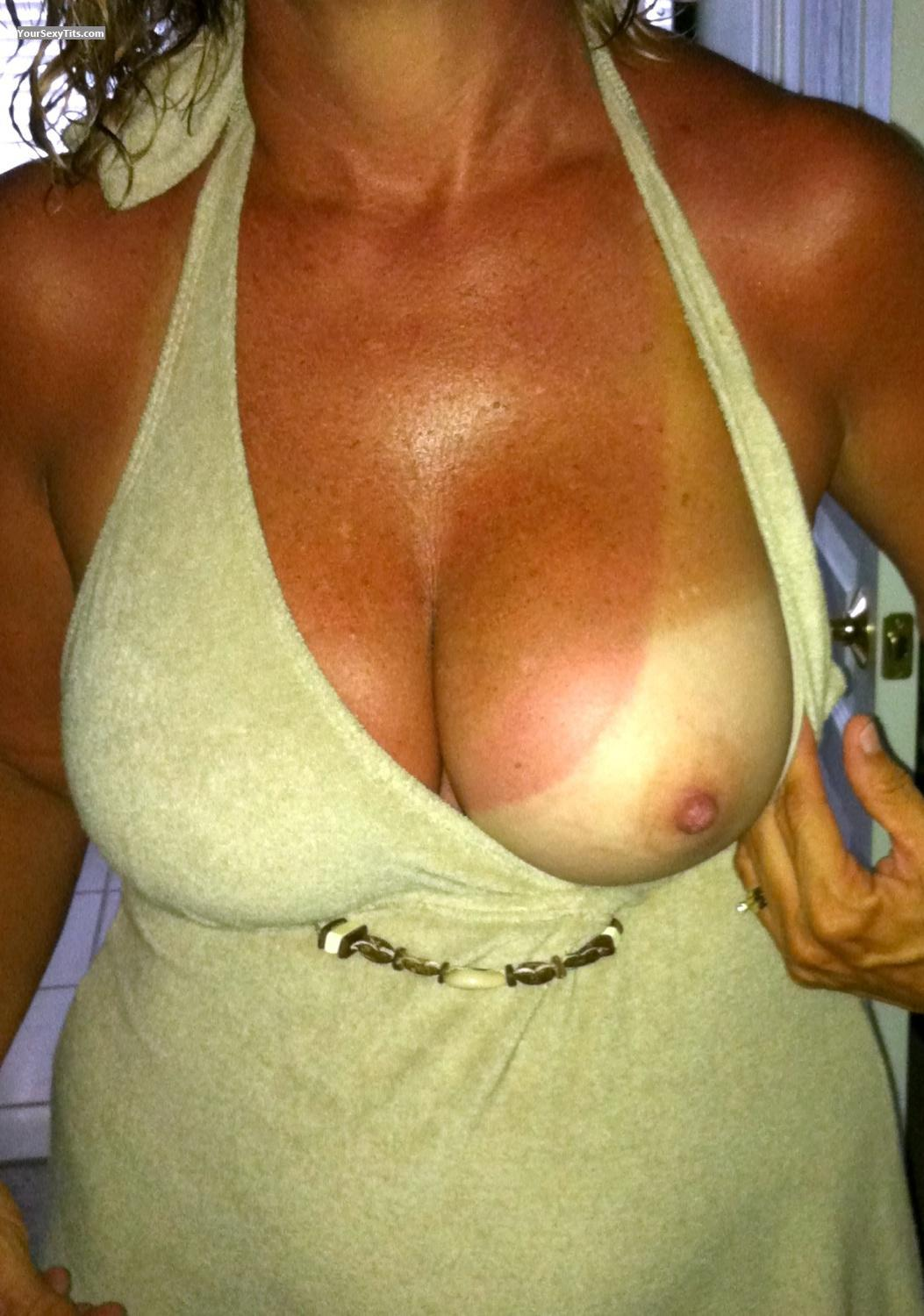 Tit Flash: Medium Tits By IPhone - 2shy from United States