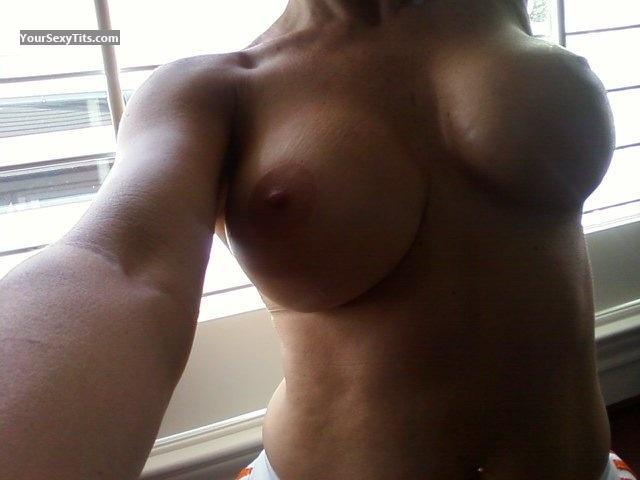 Tit Flash: My Medium Tits By IPhone (Selfie) - Cindyaustin from United States