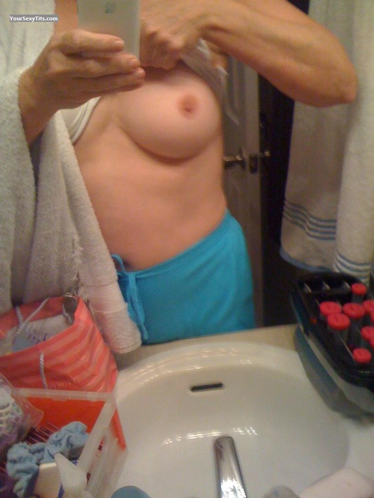 My Medium Tits Selfie by Lone Stars Baby