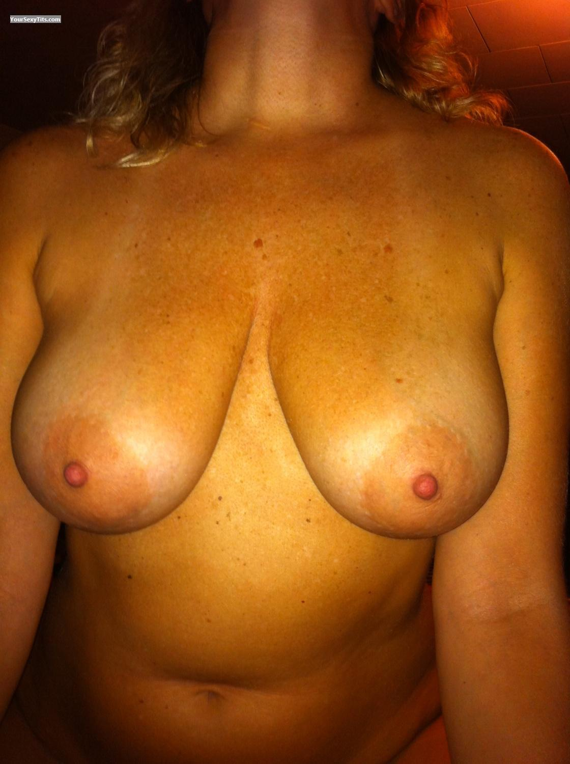 Tit Flash: Medium Tits By IPhone - Babyless from United States