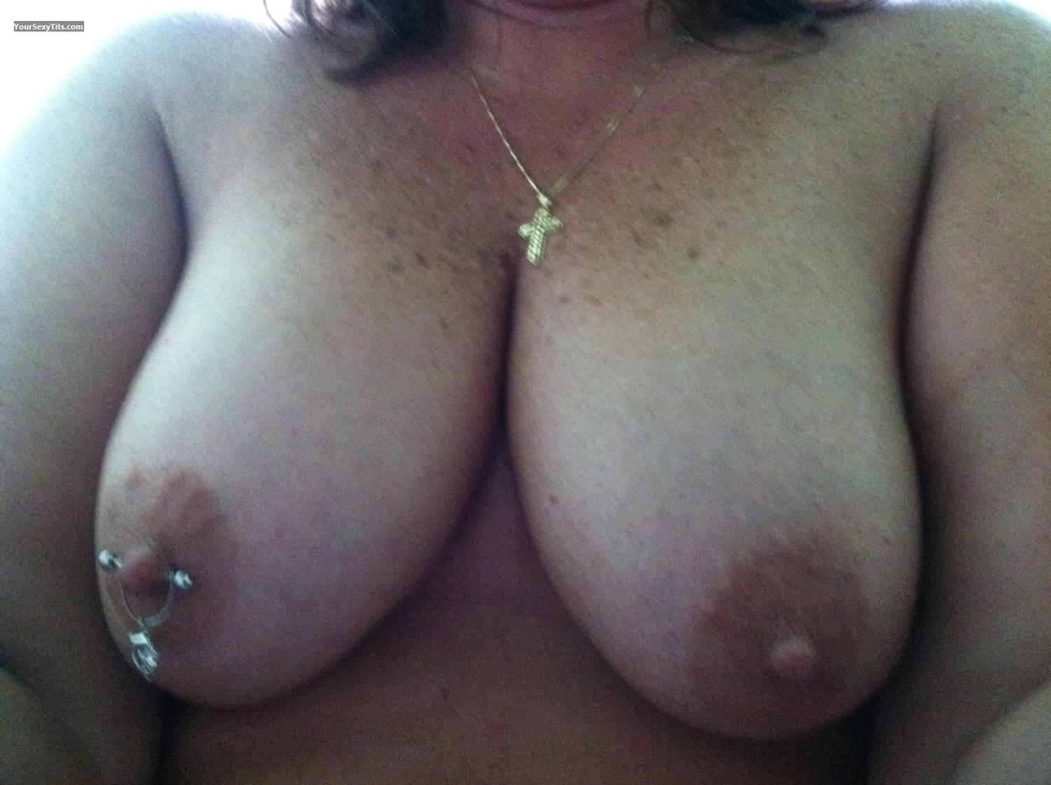 My Medium Tits Selfie by Camping Girl