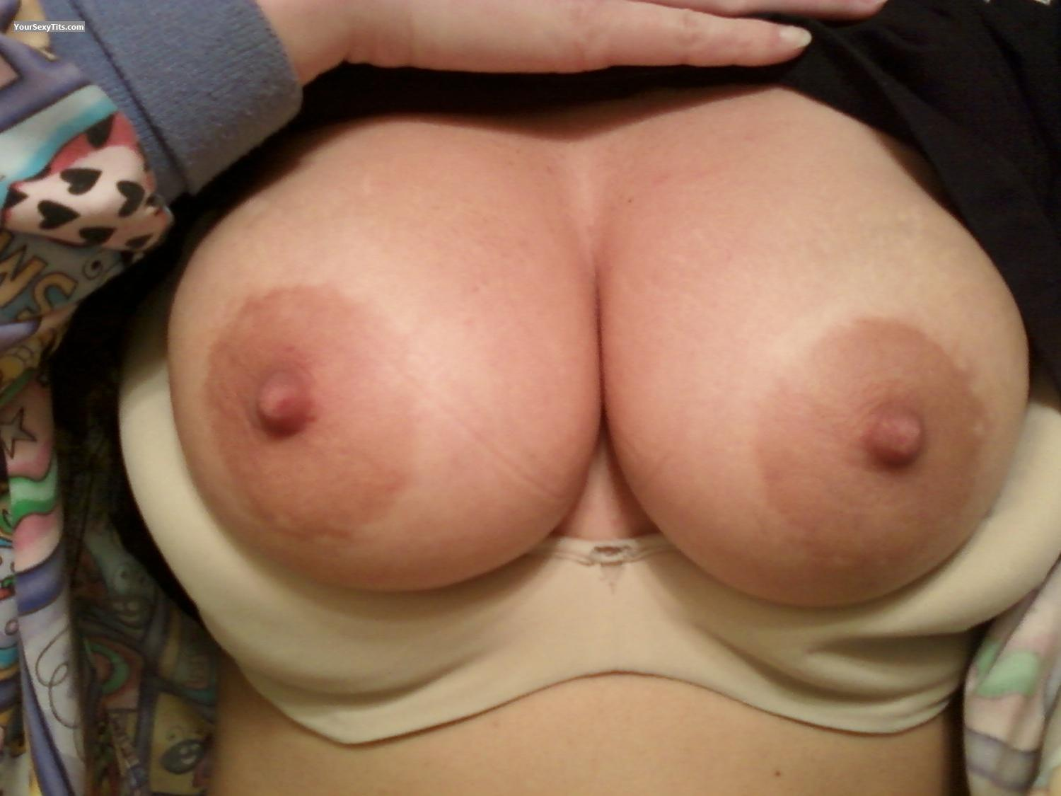 Tit Flash: My Medium Tits By IPhone (Selfie) - Hot Wife from United States