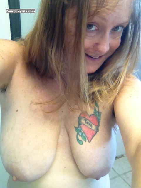 My Medium Tits Topless Selfie by Littlebit