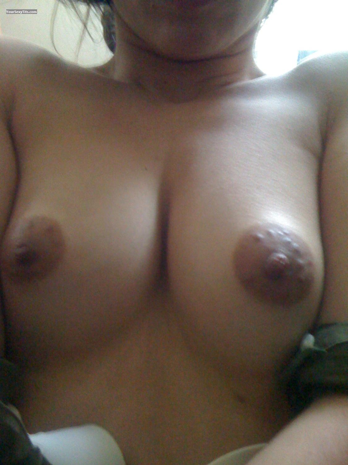 Tit Flash: My Medium Tits By IPhone (Selfie) - Prettyinpink from United States