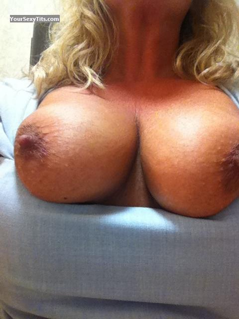 Tit Flash: My Medium Tits By IPhone (Selfie) - Cincy Girl from United States