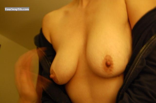 Tit Flash: Medium Tits By IPhone - Insatiable from United States