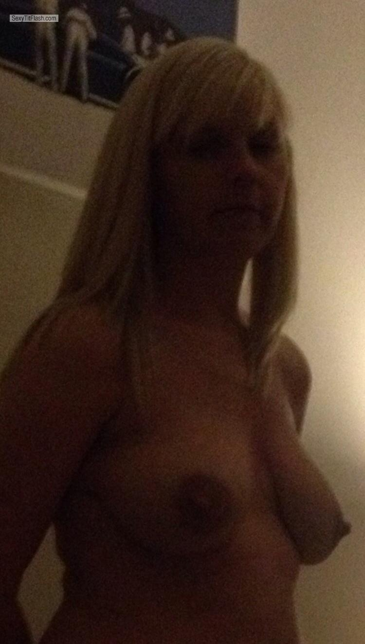 My Medium Tits Topless Selfie by UKdaringMILF