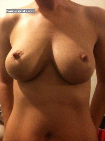 Tit Flash: Medium Tits By IPhone - Sexy Hotrod from United States