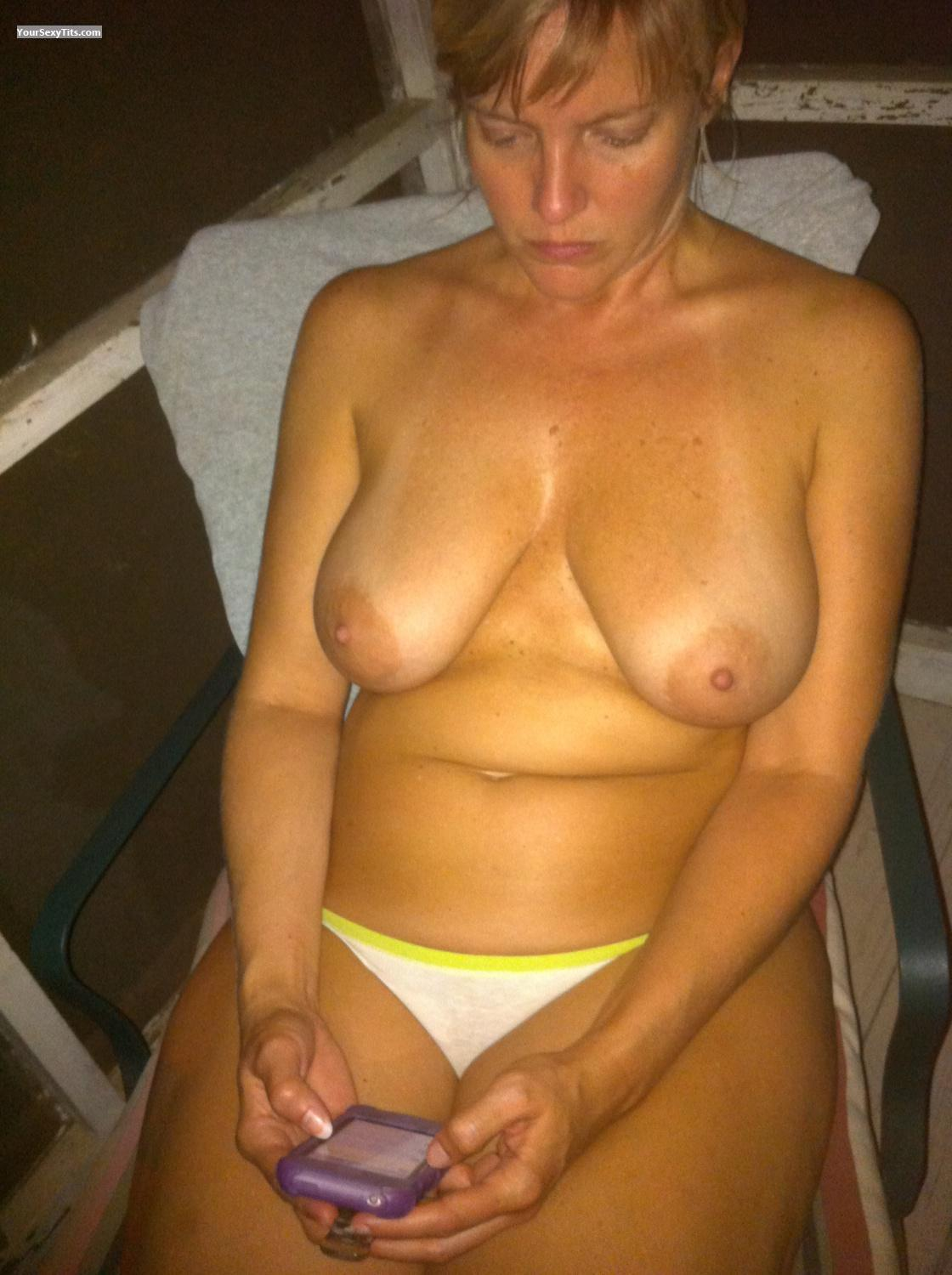 Medium Tits Outdoor Girl