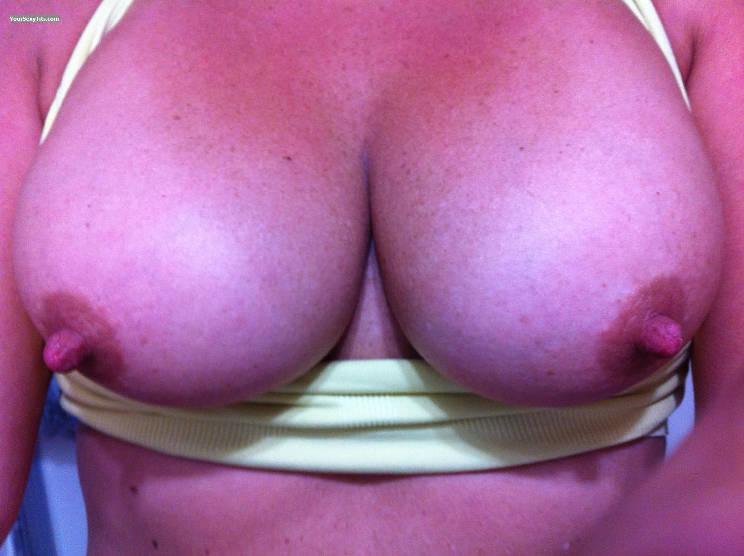 Tit Flash: My Medium Tits By IPhone (Selfie) - Good Gurl Gone Bad from United States